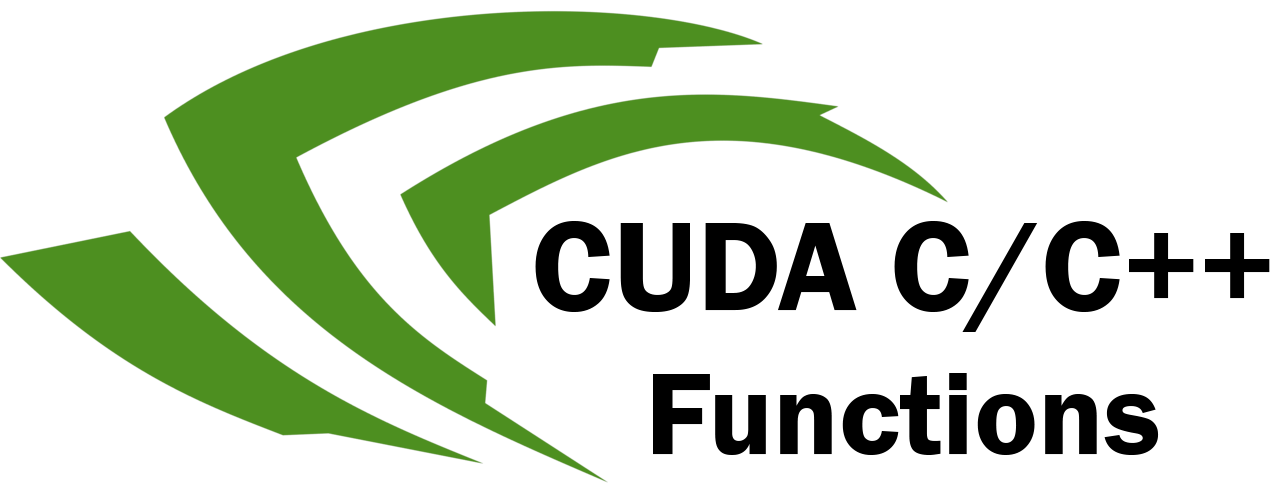 Nvidia logo with added text